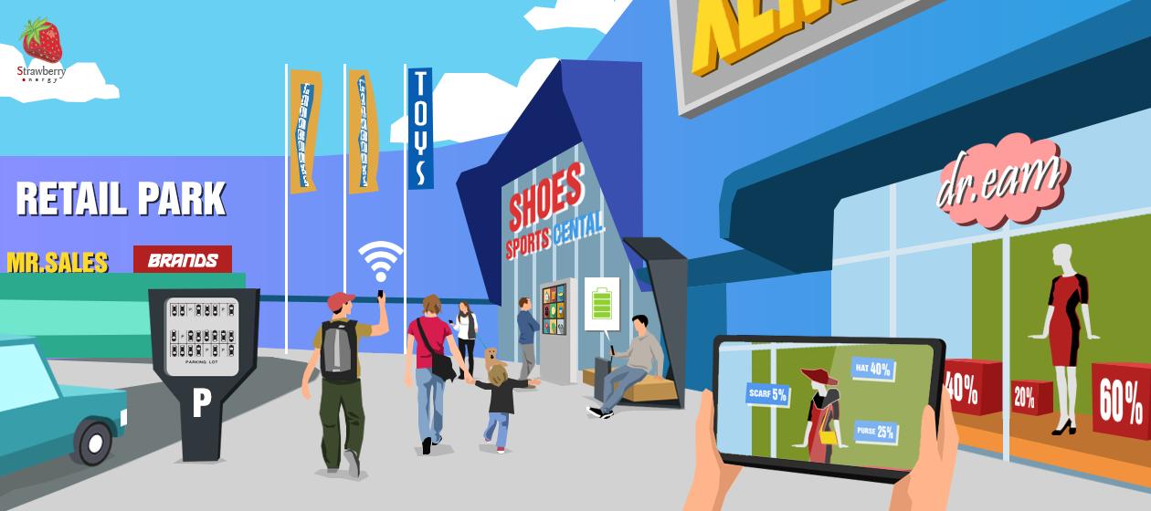 Hi-tech retail park