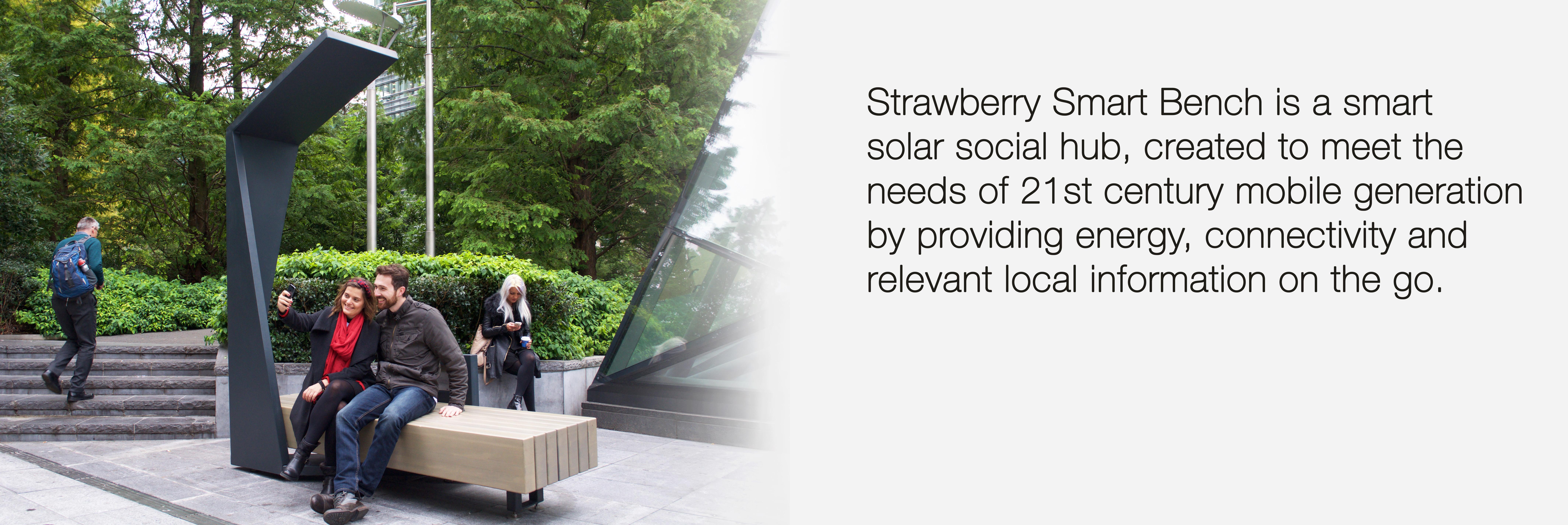 Strawberry Smart Bench blog eng